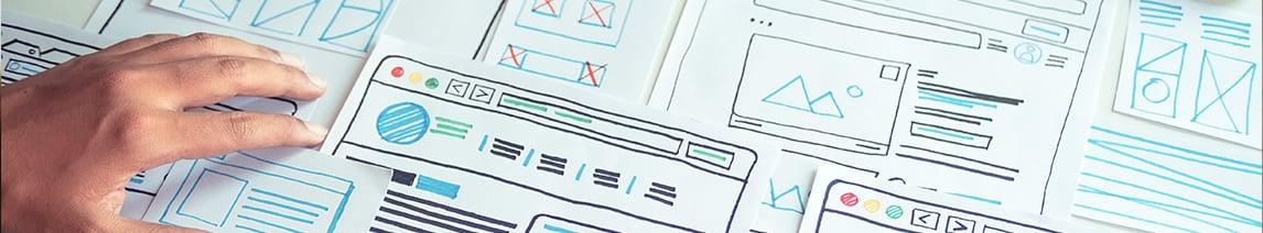Website-sketches