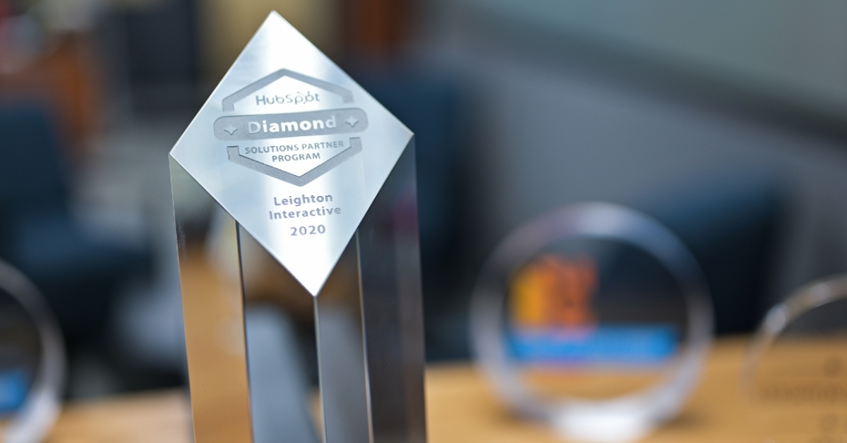 HubSpot Diamond Tier Partner Award