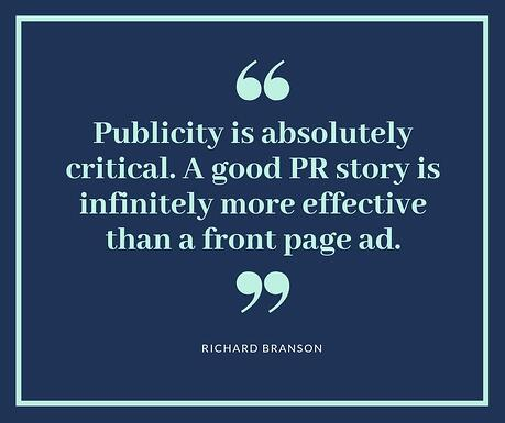 Richard Branson PR Quote Meme
