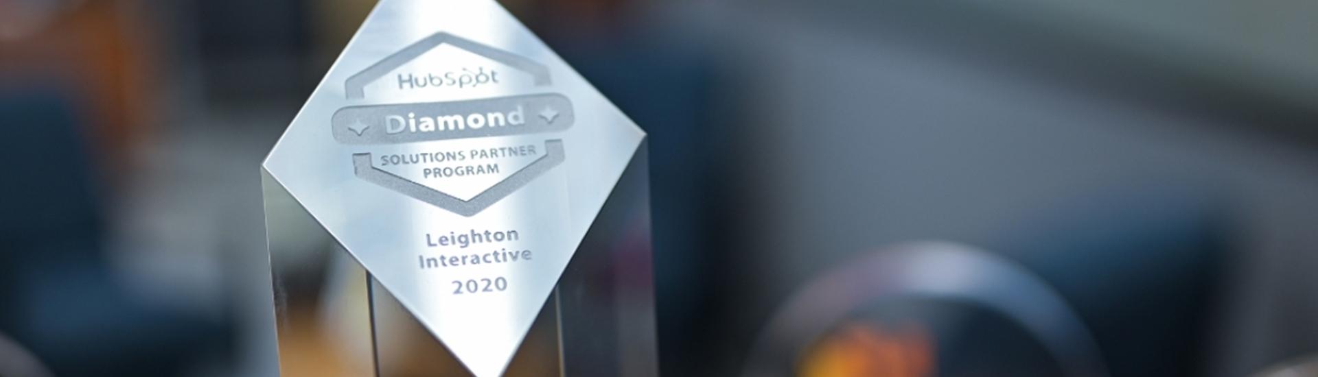 Leighton Interactive Achieves HubSpot Diamond Partner Status