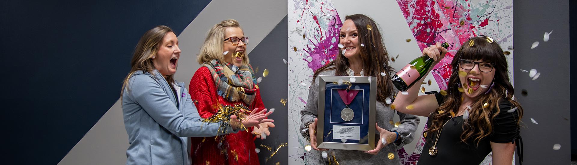 Alison Schroeder Wins Prestigious AAFCM Silver Medal Award