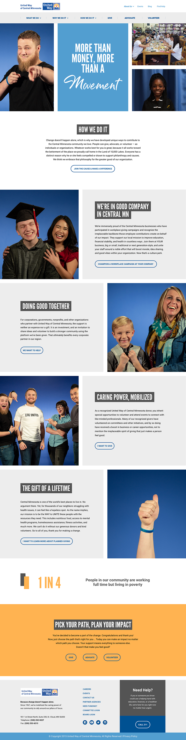 How-United-Way-Page